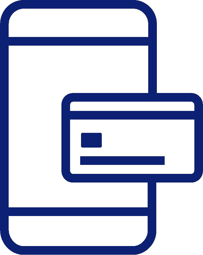 mobile transaction icon